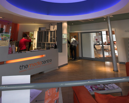 The Media Centre Reception
