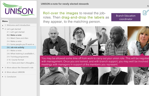 UNISON screen shot