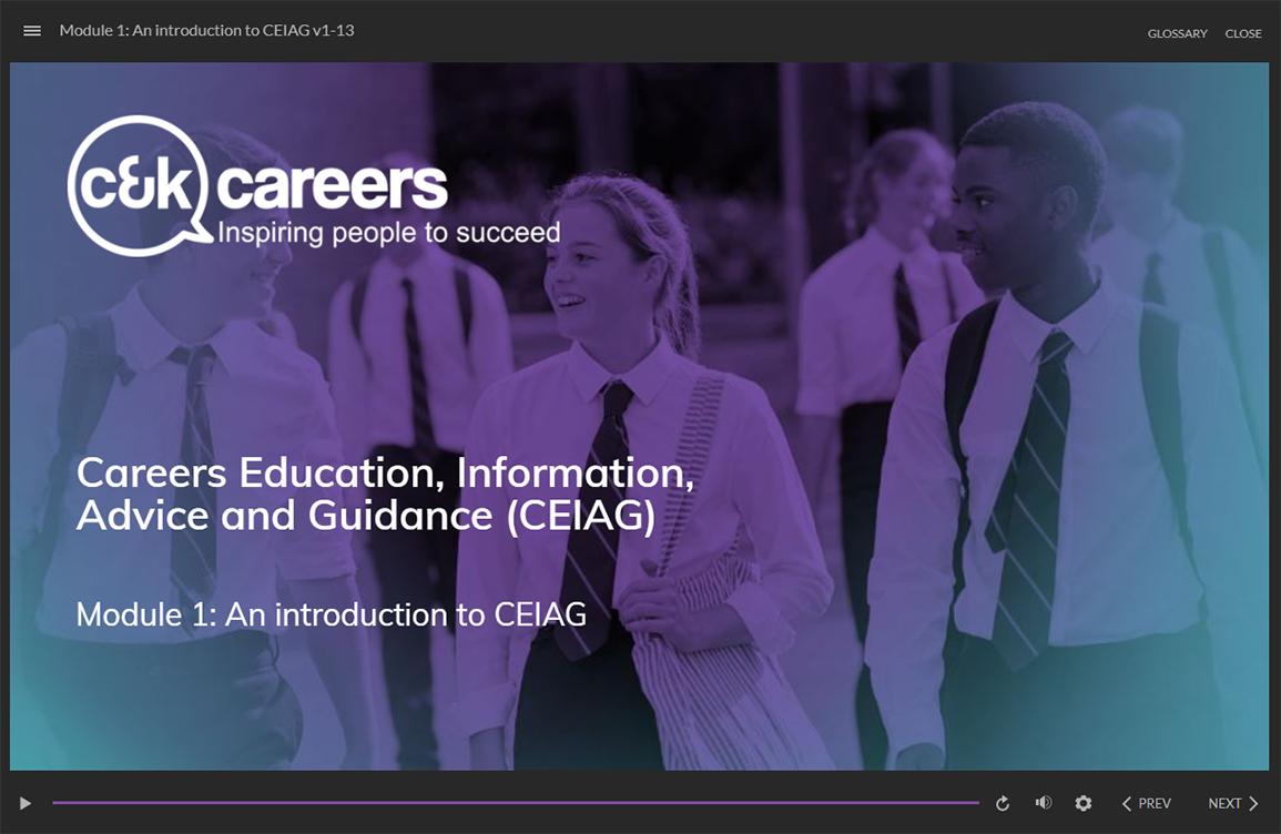 CK Careers screenshot