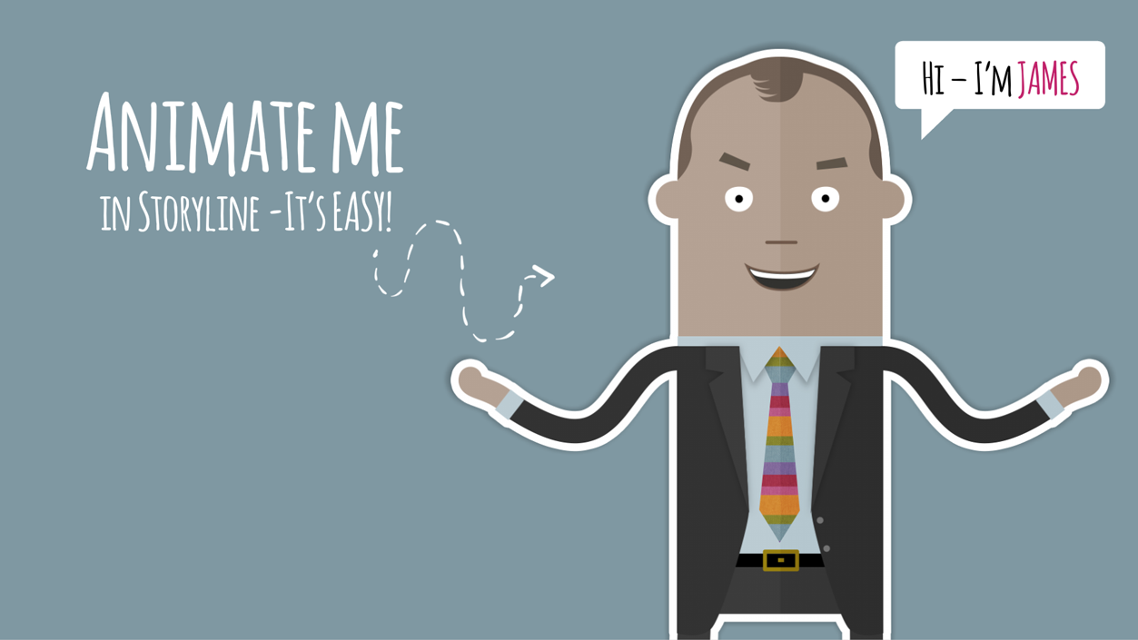 E-learning Character Pack – James